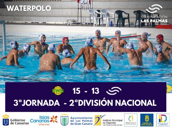 3ª Jornada de la 2ª División Nacional de Waterpolo.